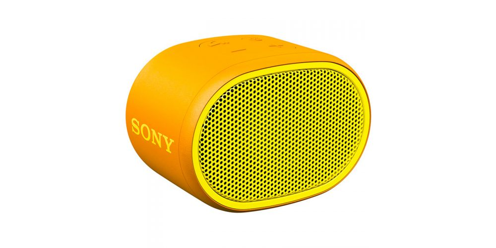 mini altavoz bluetooth sony amarillo