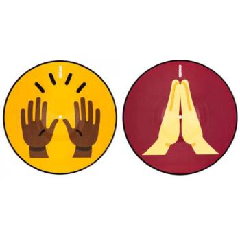 Serato SCV-PS-EMJ-1 Pressings Emoji Eeries 1 Hands