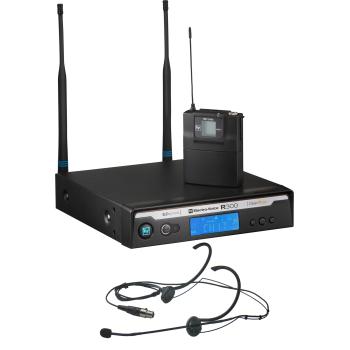 Electro-Voice R300-E/B Micrófono Inalámbrico de Diadema Banda B (678 MHz - 694 MHz)