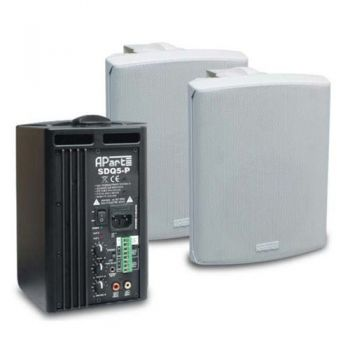 APART SDQ5P BLANCO PAR Altavoces activos SDQ-5P preparados 100 v