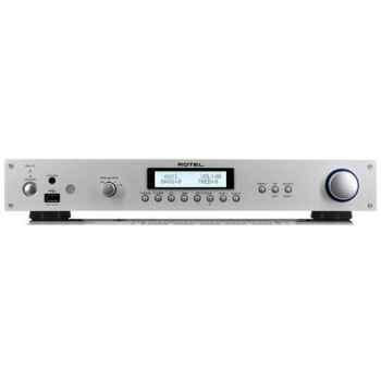 ROTEL RA-11 SILVER Amplificador 40 + 40 w Compatible IPOD y USB