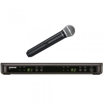 SHURE BLX1288 SM58 Microfono inalambrico Dual de Mano BLX-1288SM58
