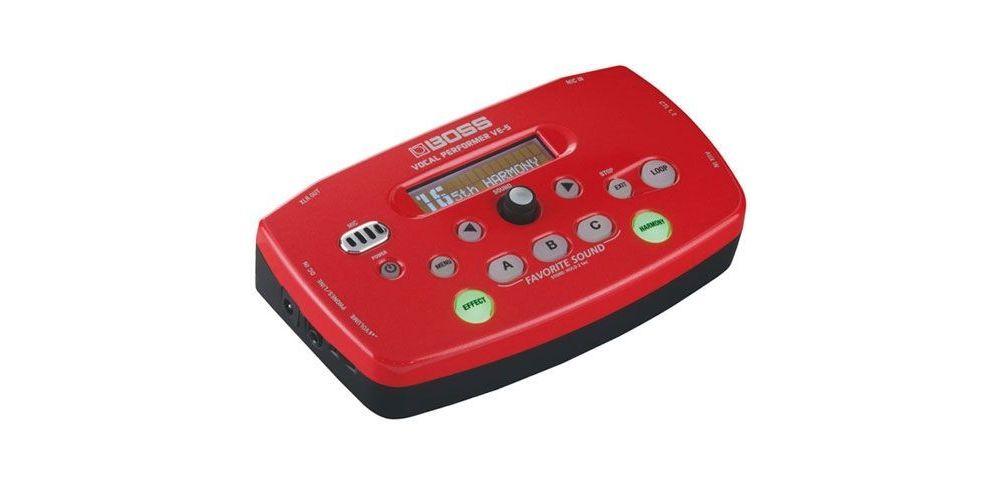 Boss VE 5 Red Procesador de Voz