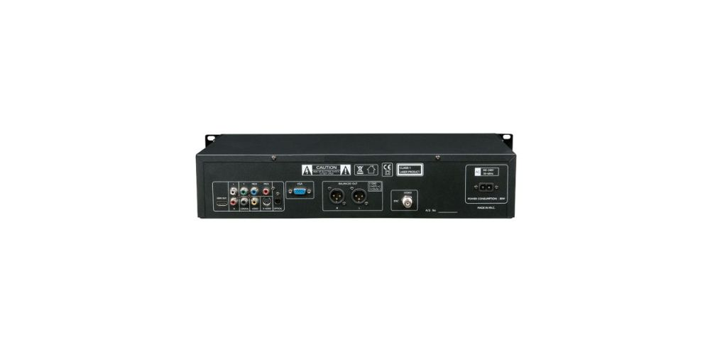 DAP Audio DVMP 250 Reproductor DVD / SD / USB
