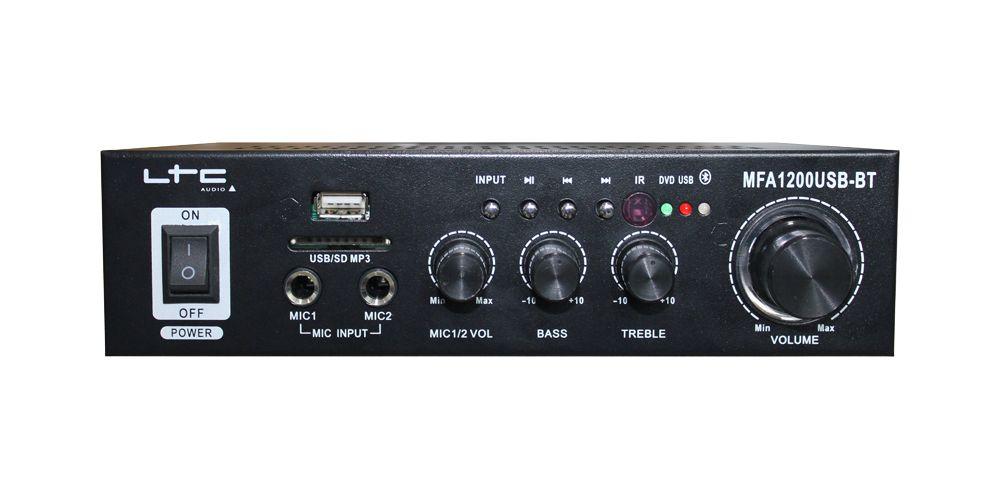 amplificador mfa1200usb bt