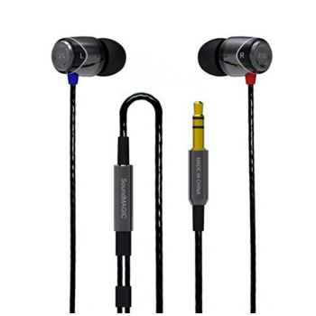 SoundMagic E10 Negro/Plata Auriculares IN EAR