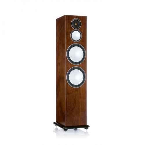 monitor audio silver 10 walnut altavoces tres vias