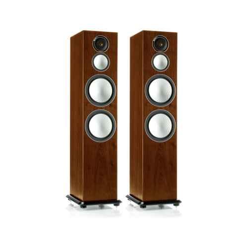 monitor audio silver 10 walnut
