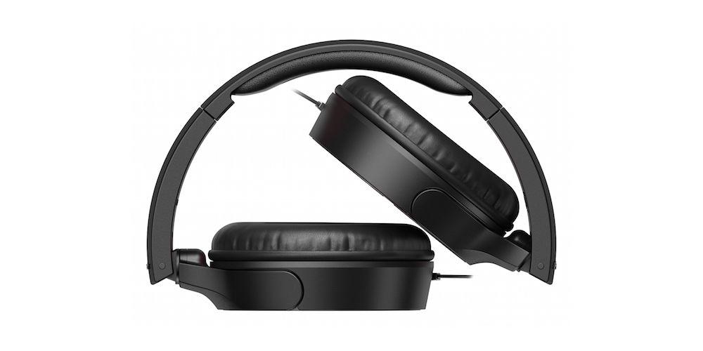 pioneer se mj722t k auriculares control graves plegables