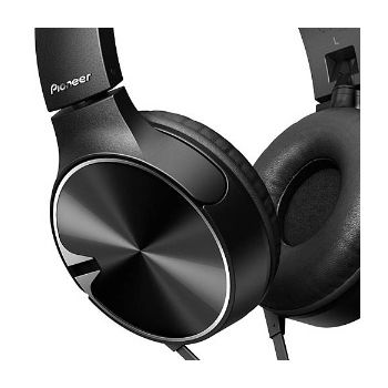 pioneer se mj722t k auriculares negro control telefono extra graves