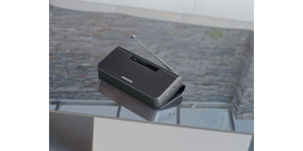SANGEAN DPR202 BT Tun Pad Azul Altavoz Bluetooth Radio Dab, Fm