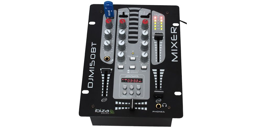 ibiza sound djm 150 usb bt 2