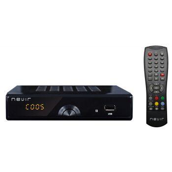 NEVIR 2597 TDT2M Sintonizador Digital Terreste HD Sobremesa Negro