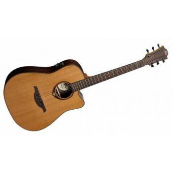 LAG T300DCE Guitarra Electro-Acustica Dreadnought Cutaway