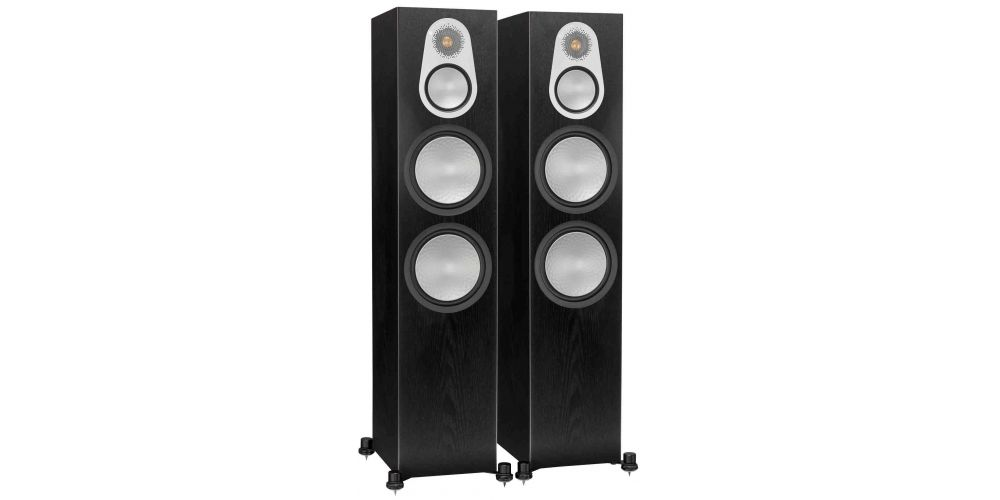 monitor audio silver 500 black altavoces
