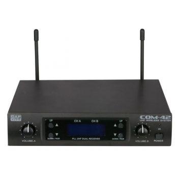 DAP Audio COM-42 Set de Dos Micrófonos Inalámbricos D1464