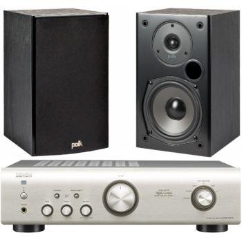 DENON PMA-520 SIL + POLK AUDIO T15B Equipo 520/T515SCD