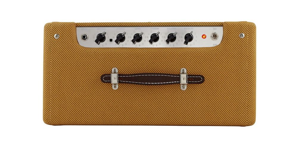fender blues junior lacquered tweed controles
