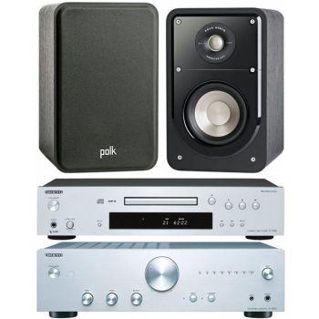 ONKYO A9010 Si+C7030 Si+ Polk Audio S15 BK Conjunto Sonido