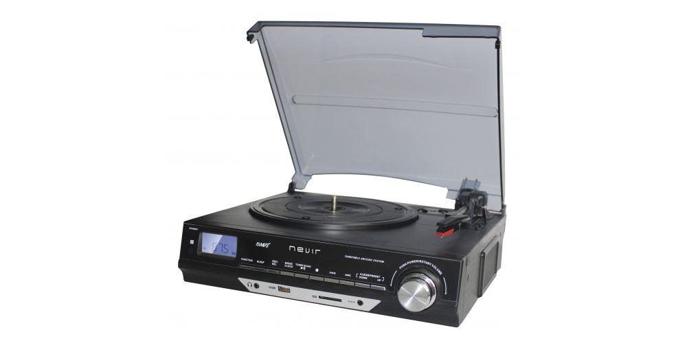 NEVIR NVR 811 VMUC Tocadiscos Retro