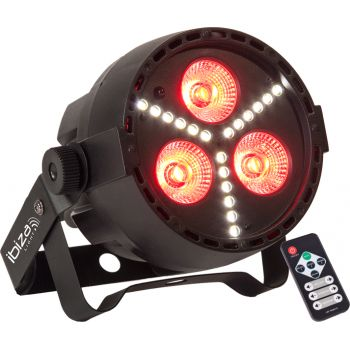 Ibiza Light Par Mini STR Foco Par Led RGBW 4 en  1