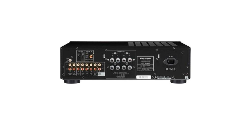 pioneer a 40ae b amplificador estereo 2 x 60 w conexiones