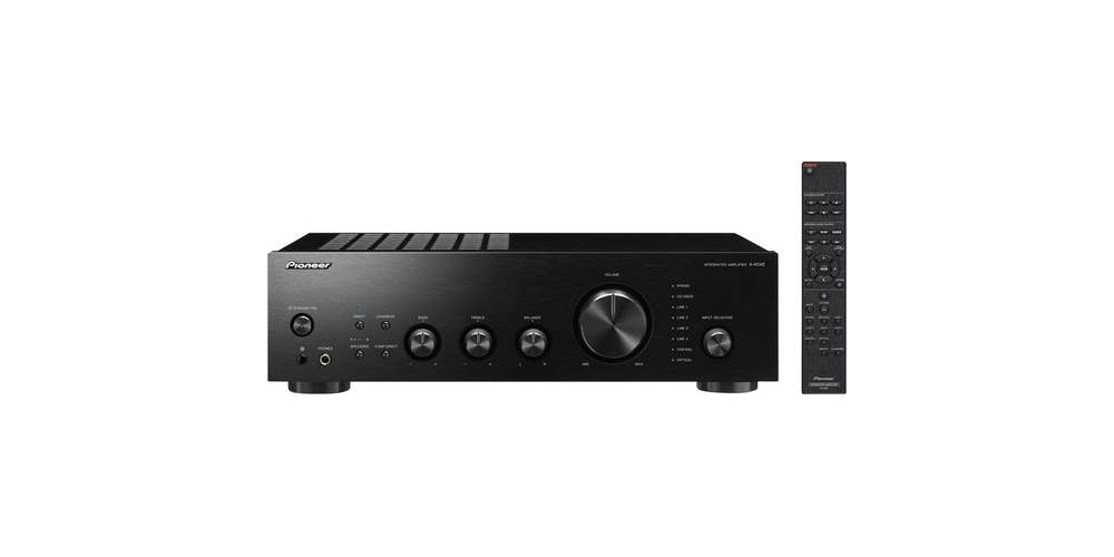 pioneer a 40ae b stereo verstaerker 2 x 60 w schwarz high resolution audio