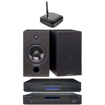 CAMBRIDGE TOPAZ AM10+TOPAZ CD10+SX60 BK+ Mee Connect Hub