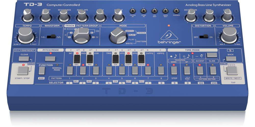 behringer TD 3 BU sintetizador