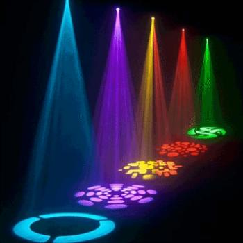 Ibiza Light LMH 50 LED Cabeza Miovil Spot de 60W Led