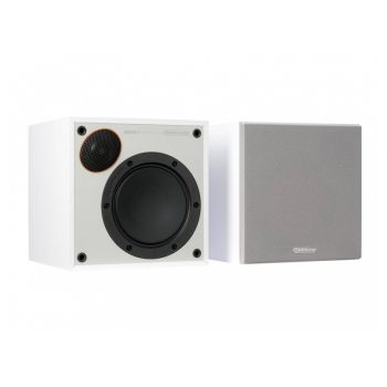 Monitor Audio Monitor 50B White Altavoces HiFi Estanteria. Pareja Blancos