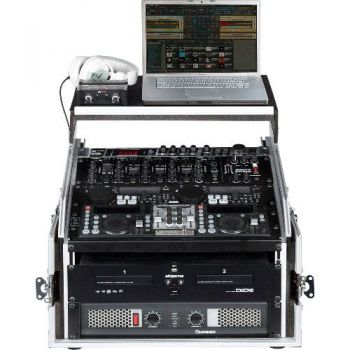 "Walkasse WRM-4U-LTS Rack 19"" 4 Unidades con Top Mixer"
