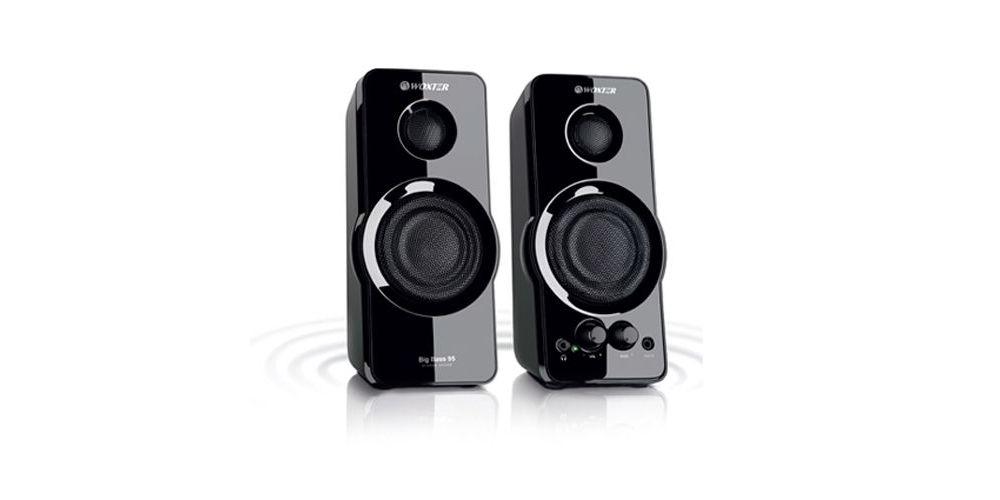WOXTER BIG BASS 95 Altavoces Multimedia Audio  2.0