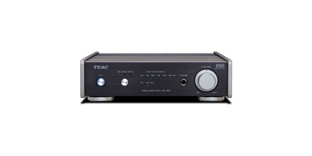 TEAC UD-301 B Amplificador, Negro
