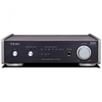 Teac UD-301 B Convertidor D/A con USB y Amplificador de Auriculares