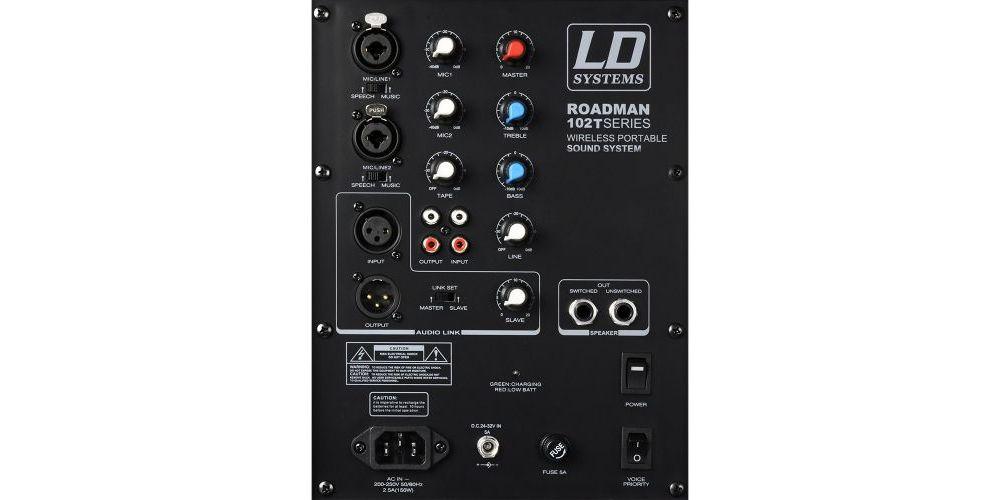 LDSYSTEMS ROADMAN102 BACK