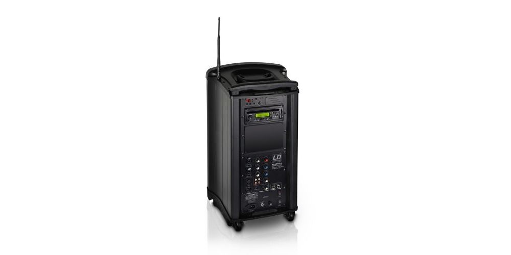 LD SYSTEMS Roadman 102 Altavoz de PA portátil con Micrófono de Mano