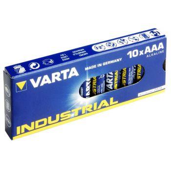 VARTA VIMN4003 Pack de 10 Pilas 1,5v AAA