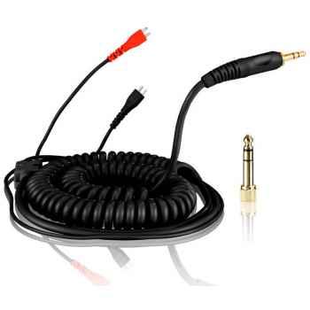 Zomo Cable DeLuxe HD 25 spiral/black 3,5 m (40180-CBD35)
