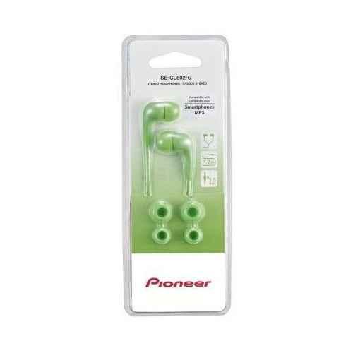 PIONEER SE-CL502G Auricular Estereo Abierto Verde