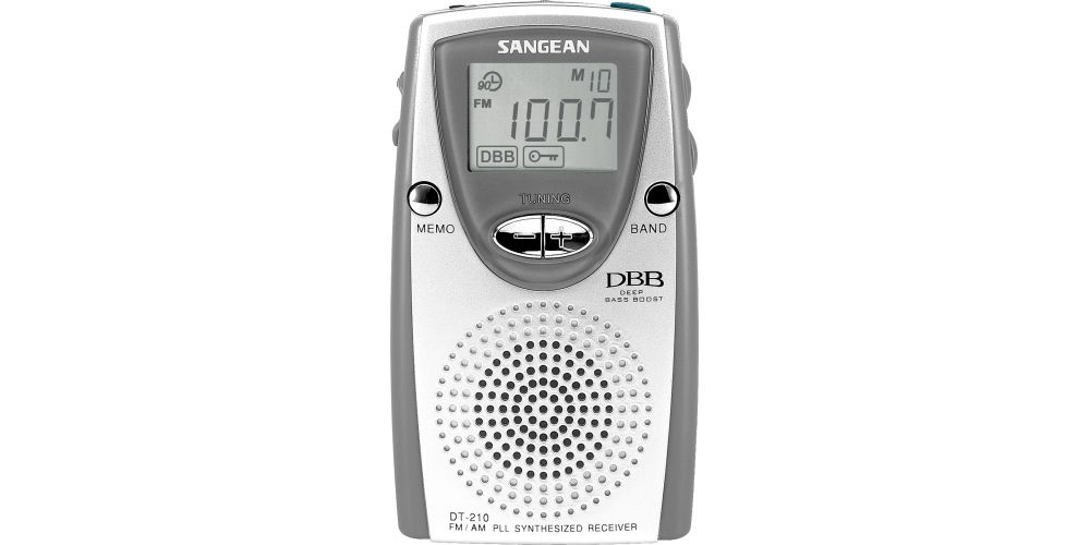 SANGEAN DT210 Radio Bolsillo Digital FM-AM