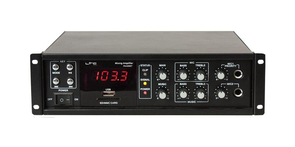 PAA80 Amplificador Megafonia
