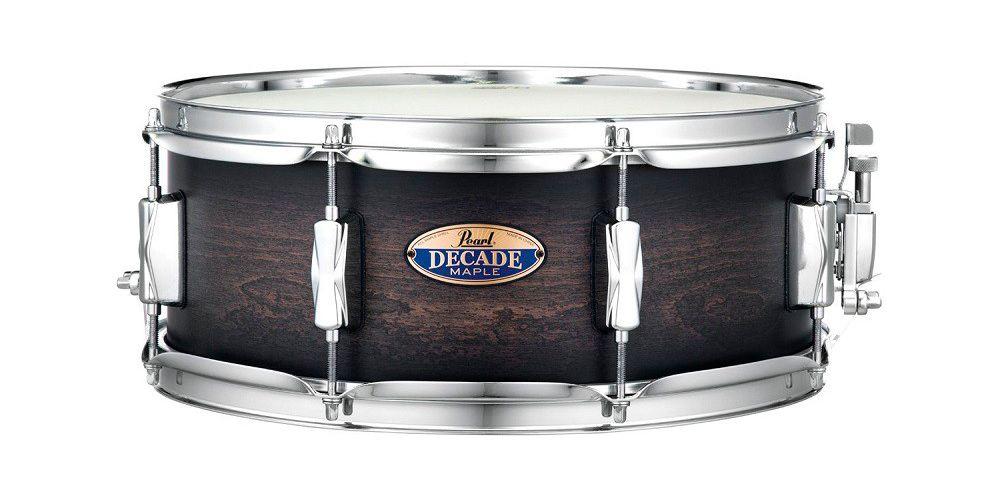 pearl decade maple dmp925f satin black burst precio