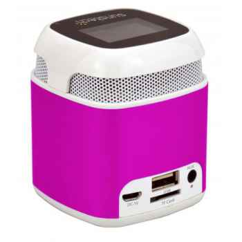 SUNSTECH SPUBT710 Rosa Altavoz Inalambrico Bluetooth