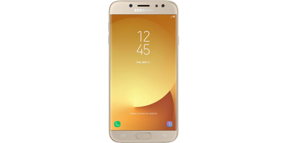 Comprar samsung galaxy j7 2017 front gold