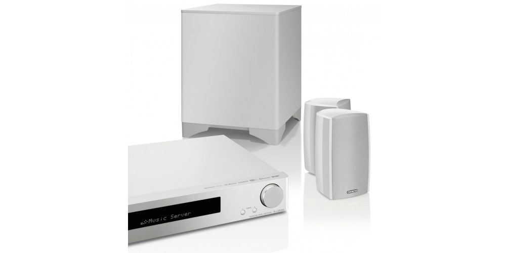 onkyo ls5200 white conjunto home cinema white