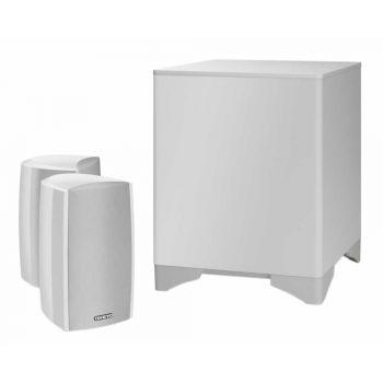 ONKYO LS-5200 White Sistema Home Cinema 2.1 con Altavoces, Negro