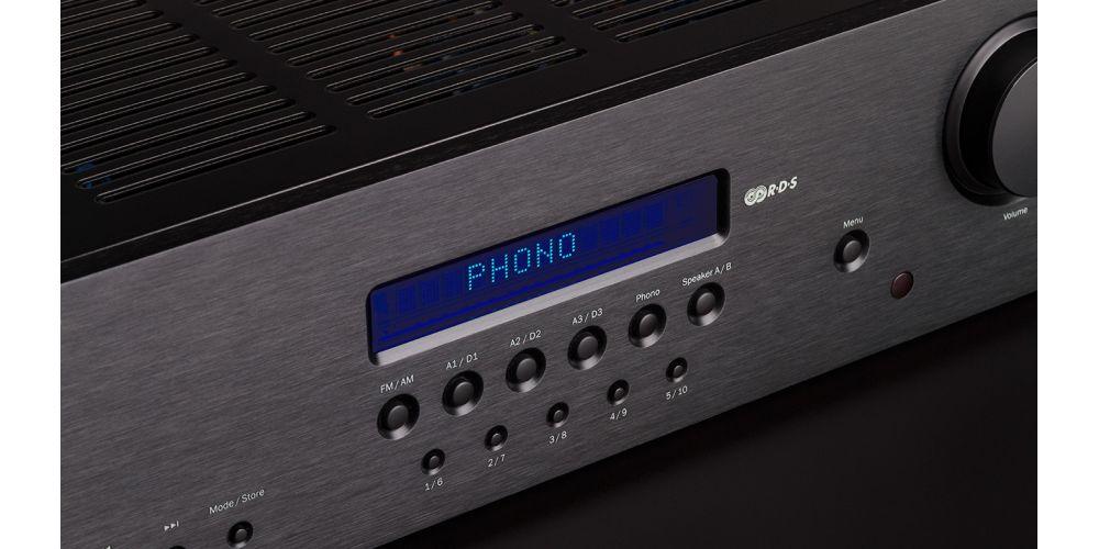 cambridge SR20 receptor alta potencia entrada phono