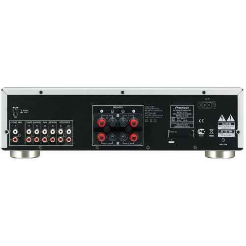 pioneer a 10 silver conexiones amplificador