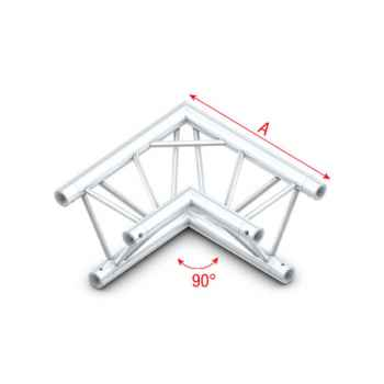 Showtec Corner 90 Tramo de Truss Esquina Triangular DT22003